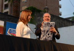 Blanca Osuna y López, en Paraná, marzo de 2014.