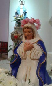 La imagen que está en Santo Domingo Savio.