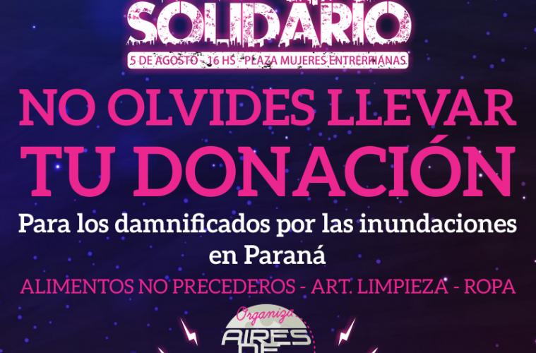donacion rock solidario