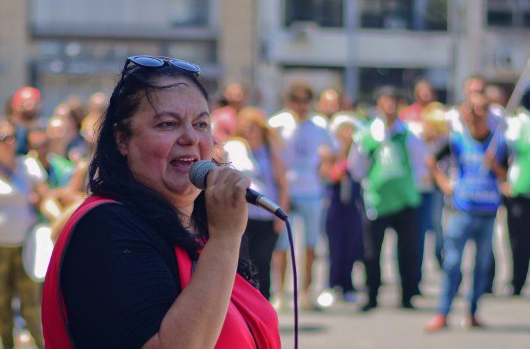 Susana Cogno, Secretaria General de Agmer Paraná - Foto: Entre Ríos Ahora