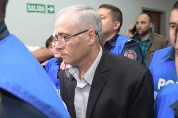 foto jose almeida comienzo del juicio al cura justo ilarraz acusado de corrupcion de menores seminaristas entre 1985 - 1993 parana 16-04-2018
