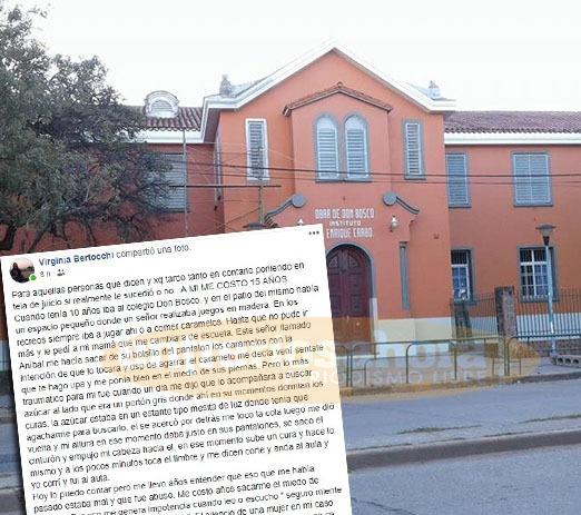 Duro relato de un abuso en el Colegio Don Bosco de Paraná